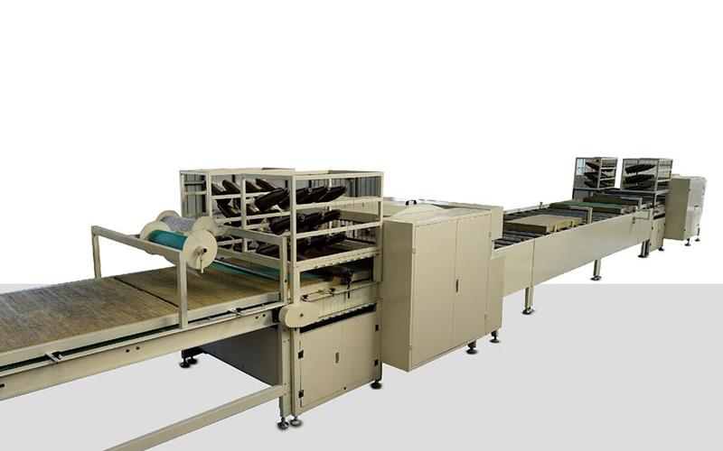 全自動巖棉縫制生產線